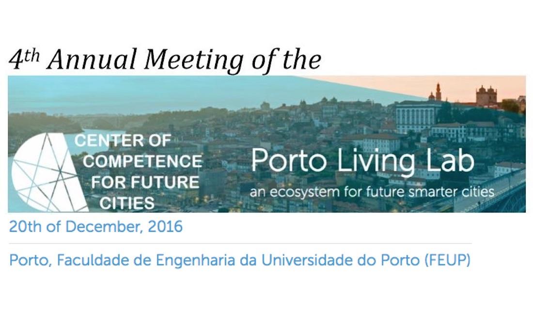 Porto Living Lab - 4th Annual CCFC Meeting