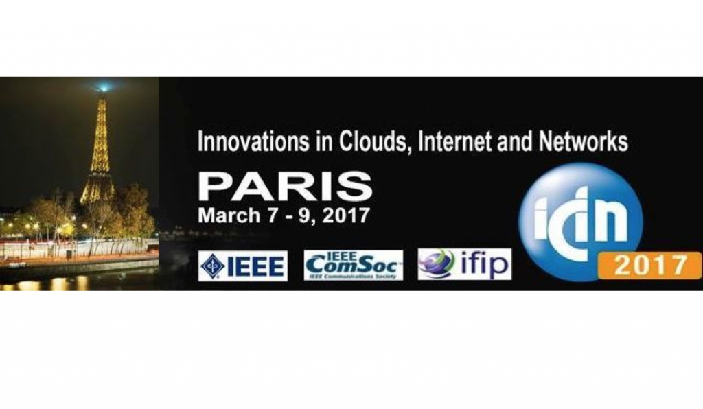 Paris - ICIN 2017 : Workshop on IoT Infrastructures and Data Analytics for Smart Cities