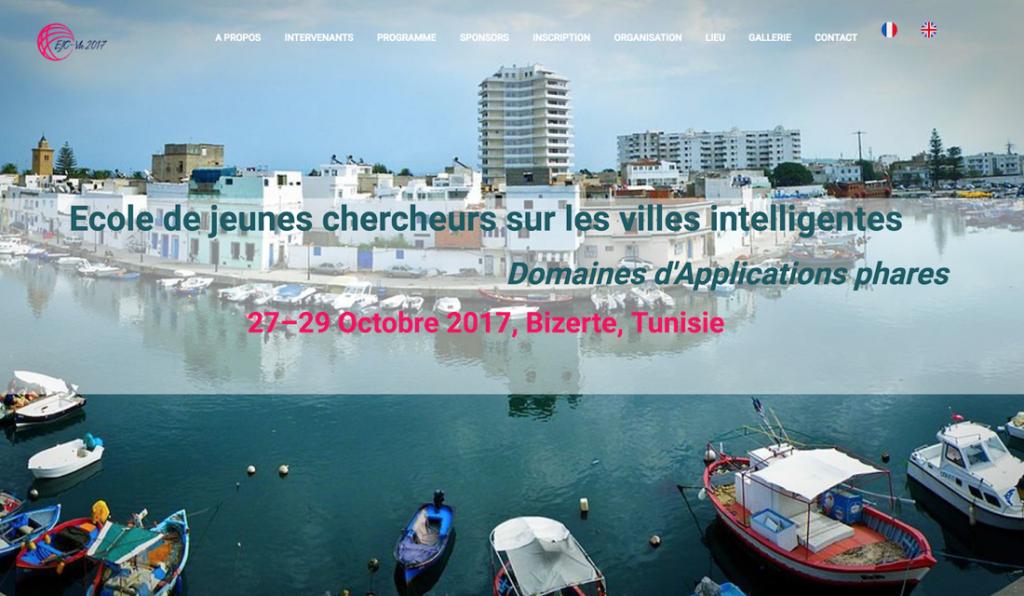 Bizerte, Tunisia - École de jeunes chercheurs sur les villes intelligentes